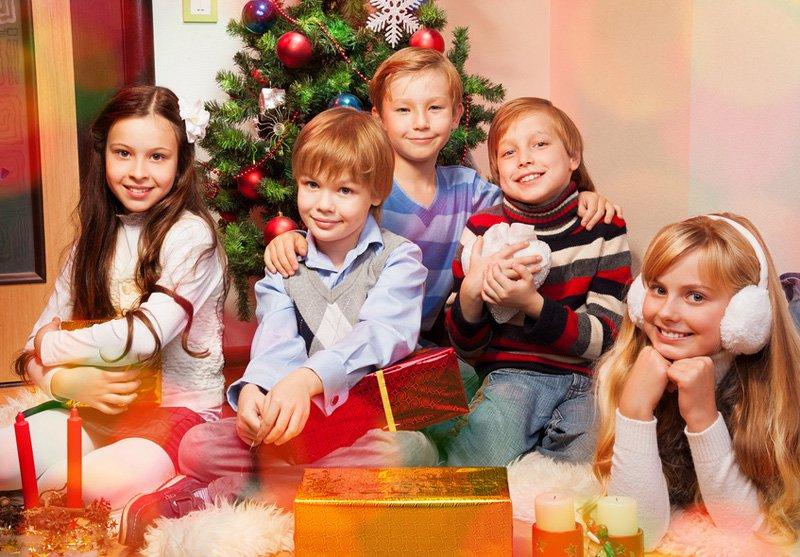 Чем занять детей на новый год