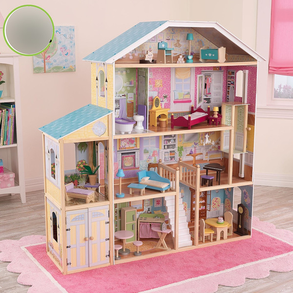 для картинки кукольного домика для кукол уже проговорила раньше