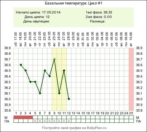 Беременность и температура