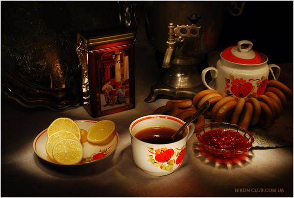 Чай с вареньем чай с печеньем чай с хорошим настроением