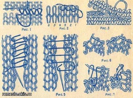 как сшивать вязаные вещи вяжем нашим детям форум дети Mailru