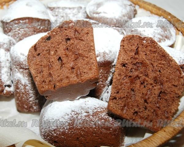 Кекс рецепт пошагово с какао в духовке