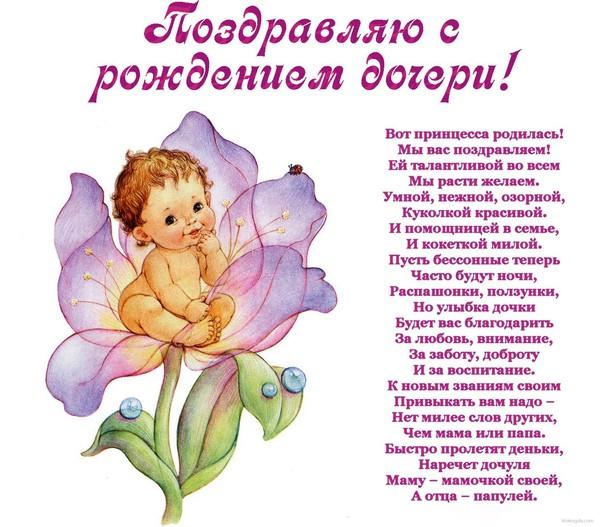 Поздравления с днем рождения дочки родителям своими словами