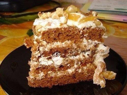 Трухлявый пень торт фото