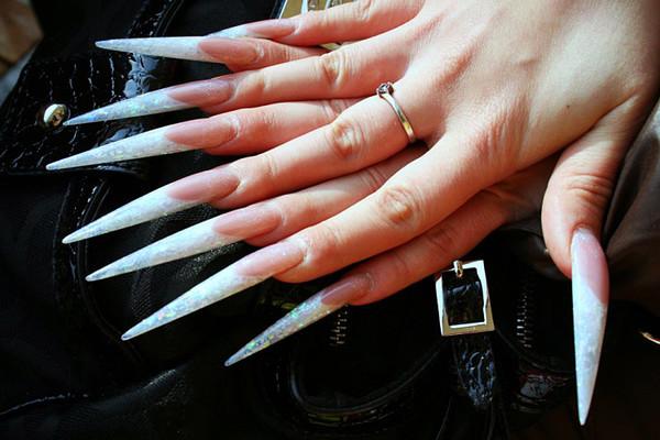 Фото красивых и длинных ногтей