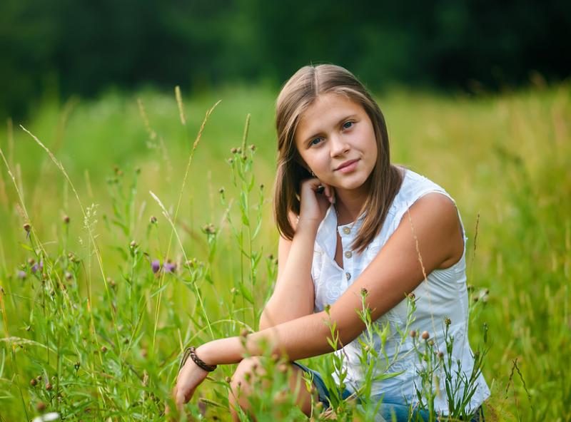 Дети девочки 12 лет без фото