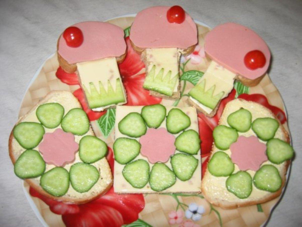 Как сделать бутерброды рецепт с