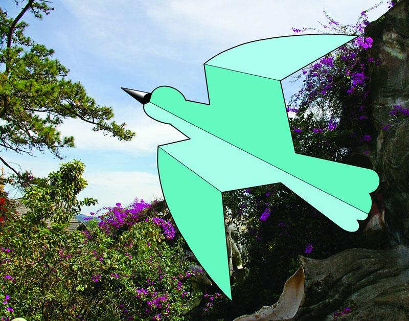 Летающие модели из бумаги - Статьи