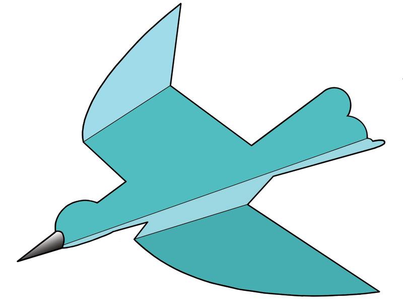Как сделать голубя из бумаги чтобы летал