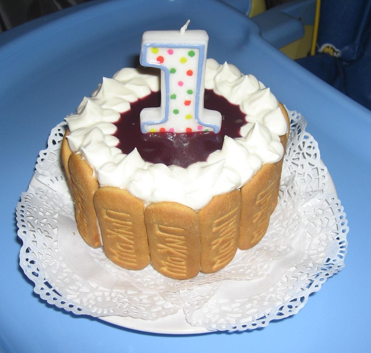 Торт на 1 год своими руками