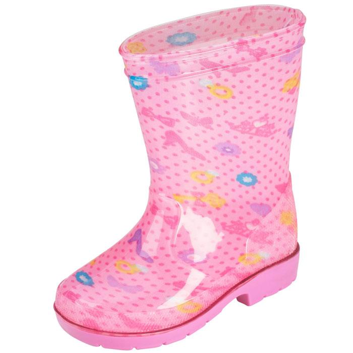 Я шагаю по лужам: резиновые сапожки на детские ножки