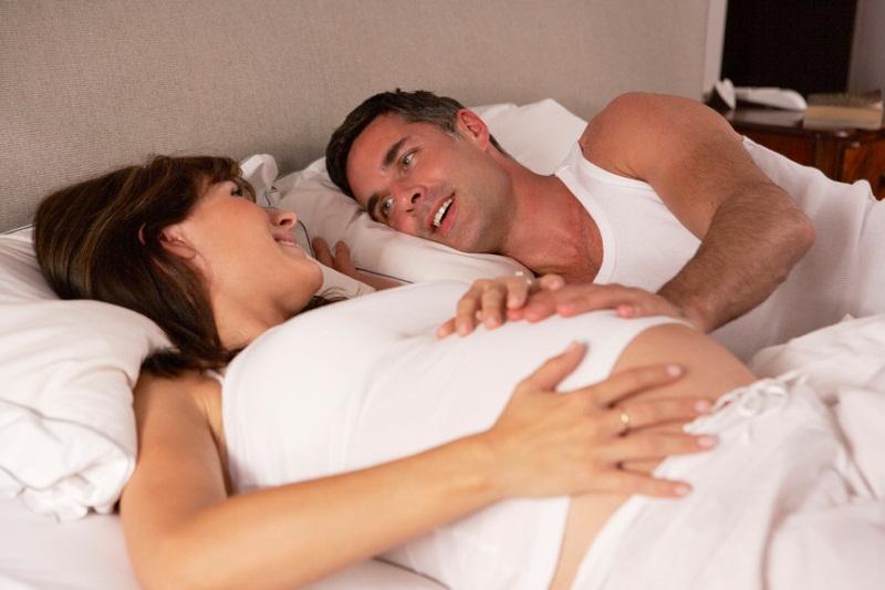 Муж во время беременности бояться заниматься сексом