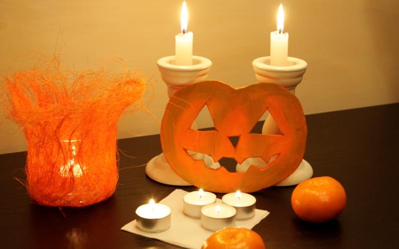 Встречаем Хеллоуин: как смастерить Джека-тыквенную голову
