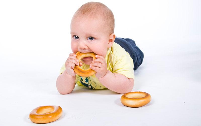 Ожирение у грудных детей