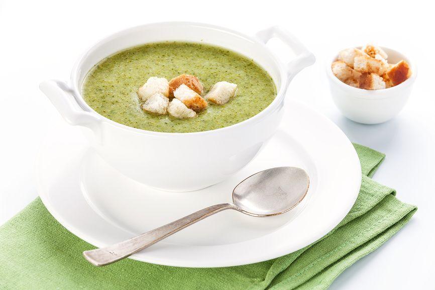 как приготовить суп с брокколи рецепт с фото
