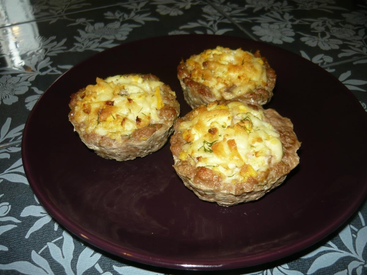 Маффины с мясом и сыром рецепт пошагово