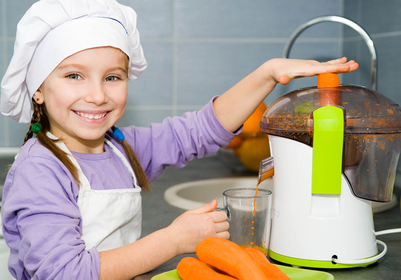 Овощные соки в детском рационе