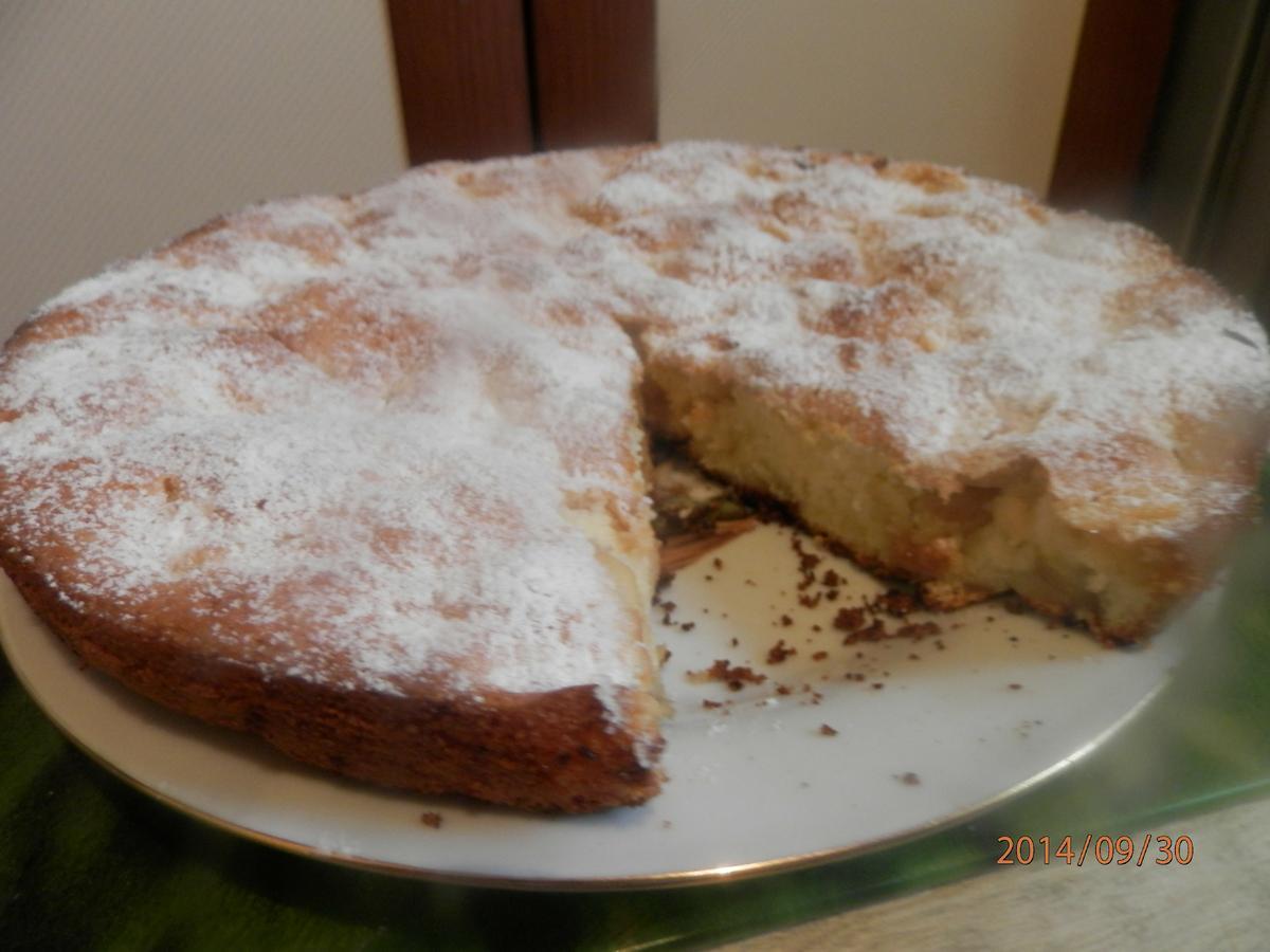 рецепт шарлотки с яблоками в духовке с манкой