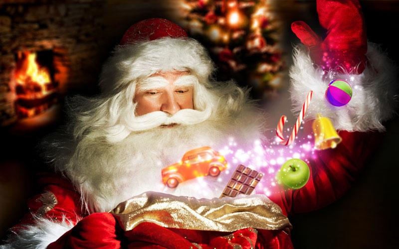 Дед Мороз и дети 7