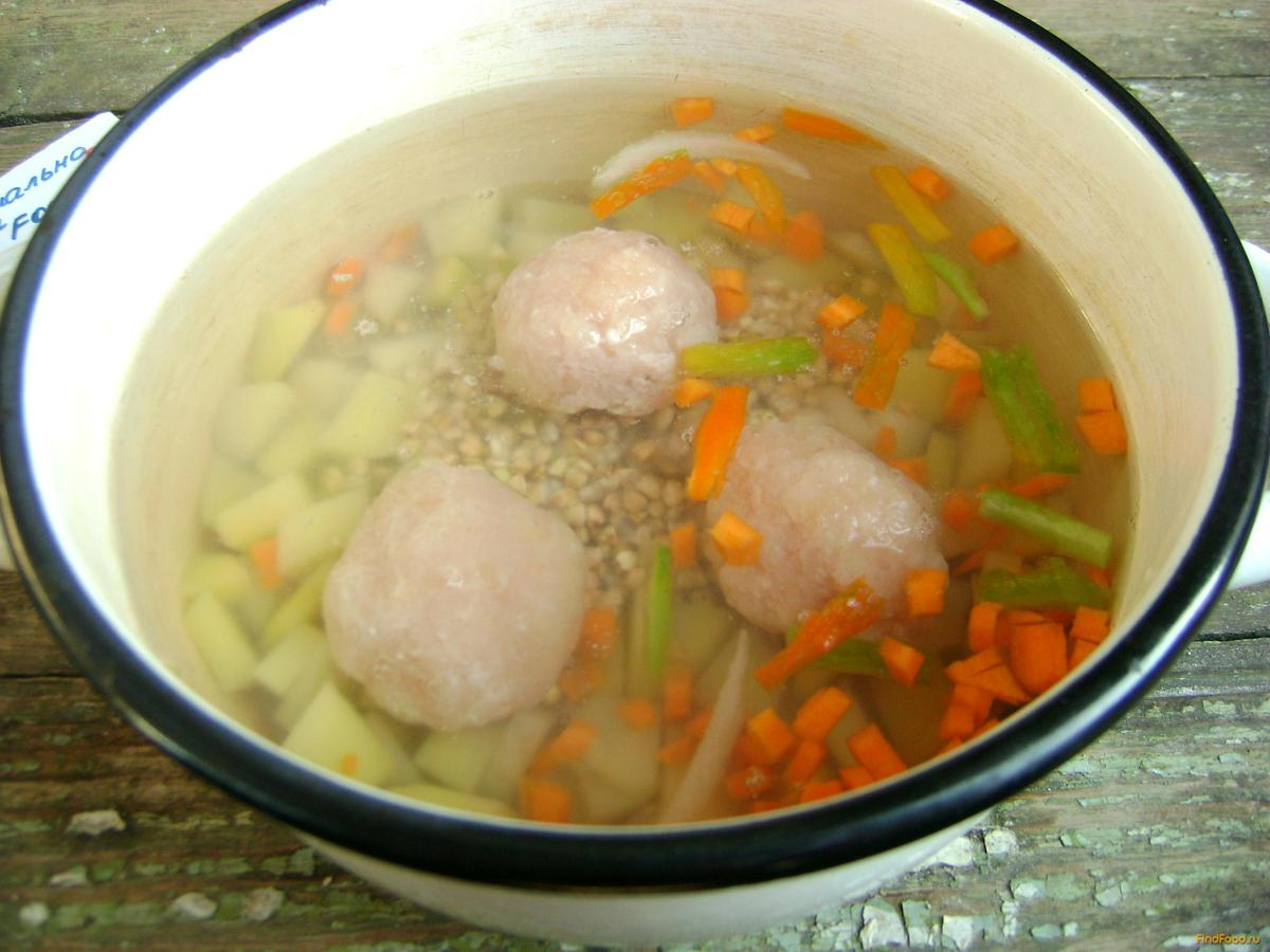Сварить суп с фрикадельками