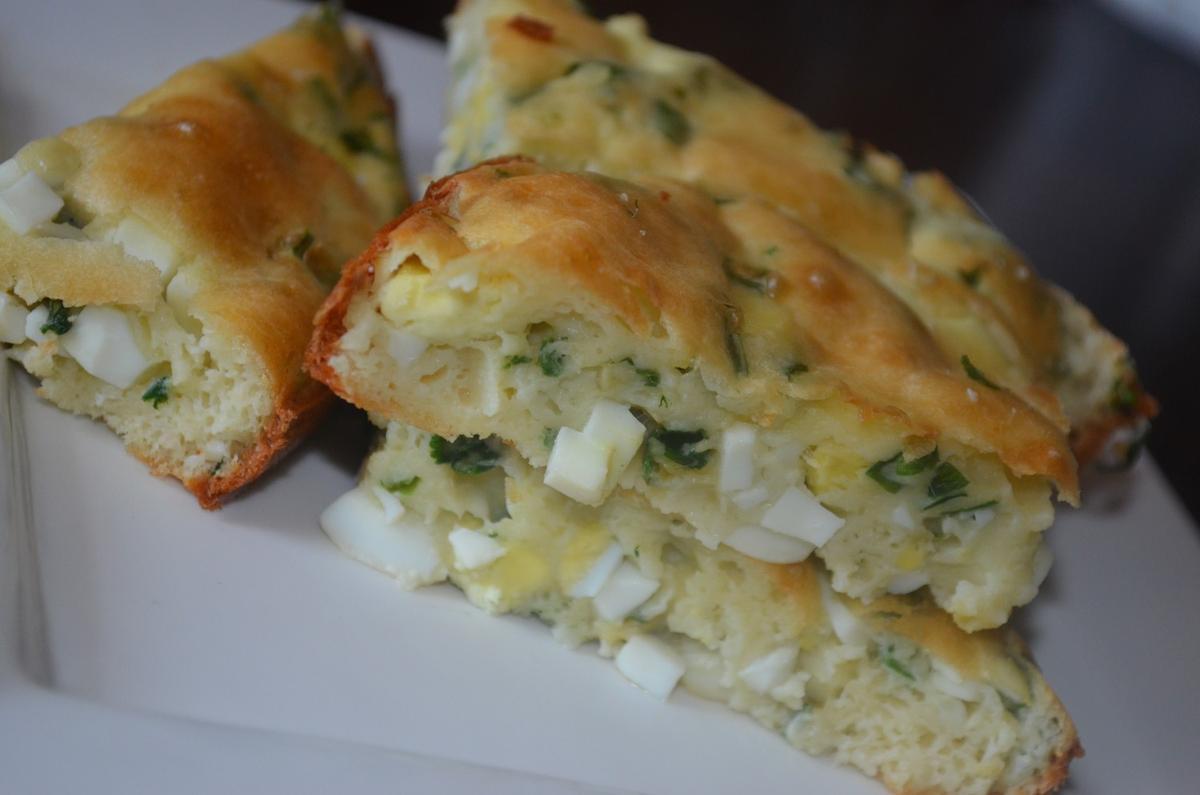 Быстрый заливной пирог пошаговый рецепт с фото