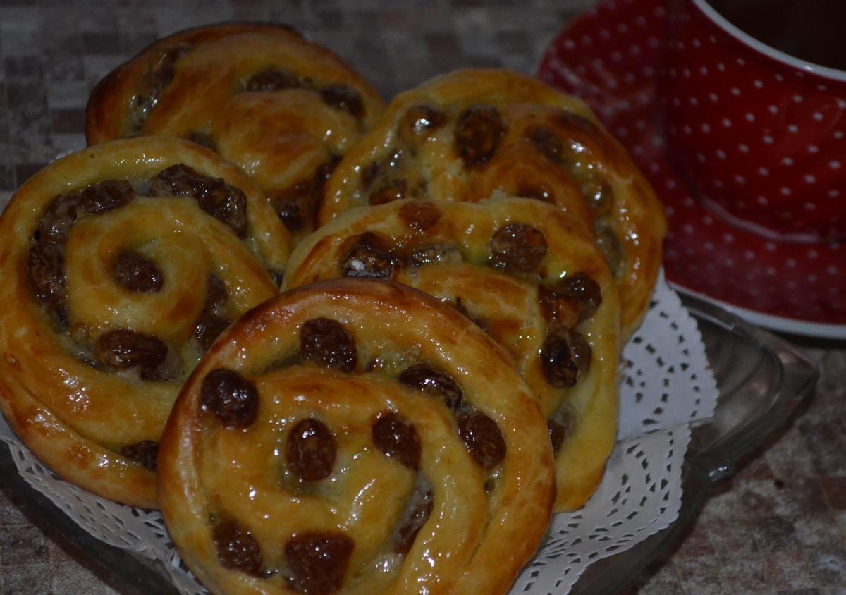 Французские булочки - кулинарный