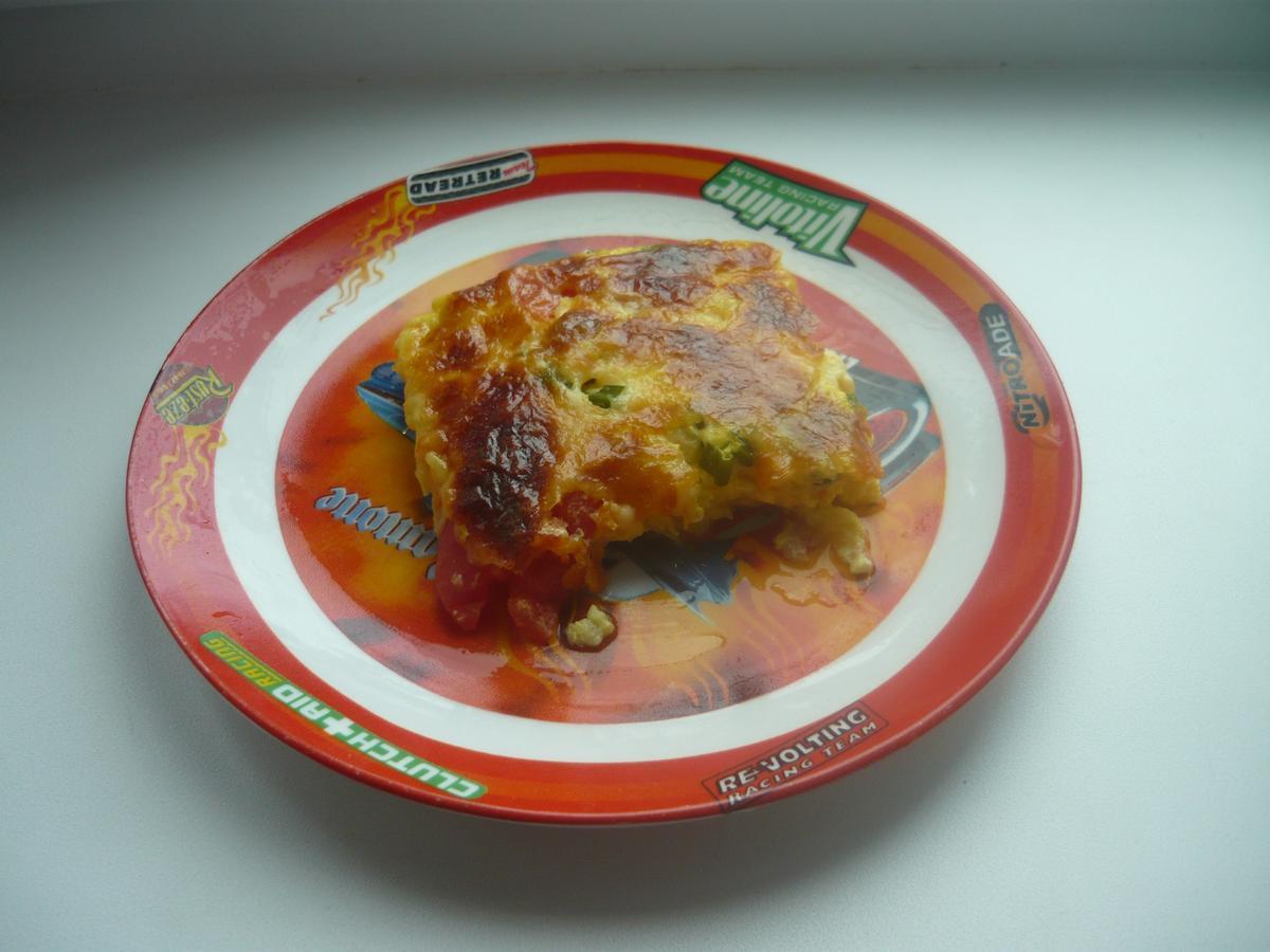 Кабачки с помидором и сыром в духовке пошагово