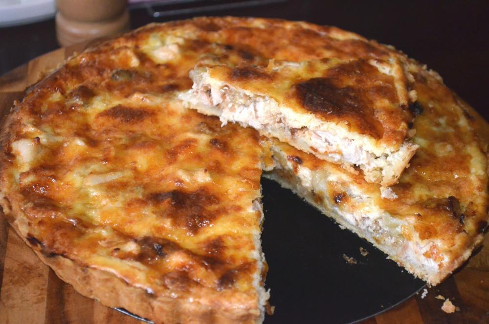 лоранский пирог грибами рецепт фото