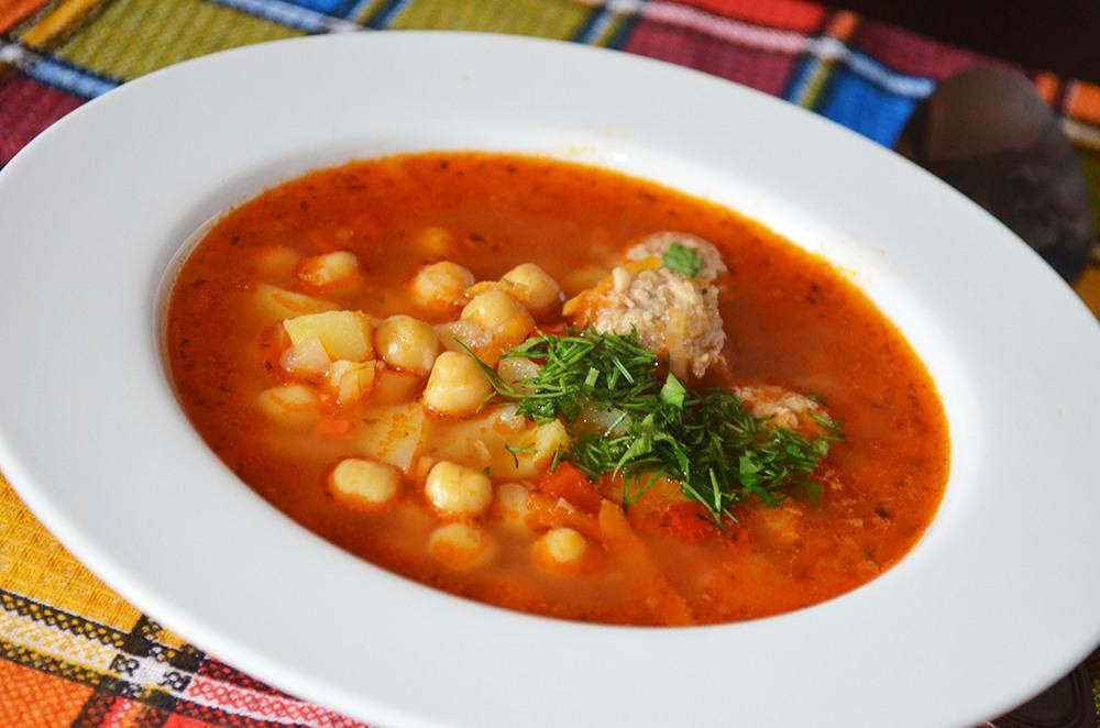 как варить суп с фрикадельки рецепт с фото