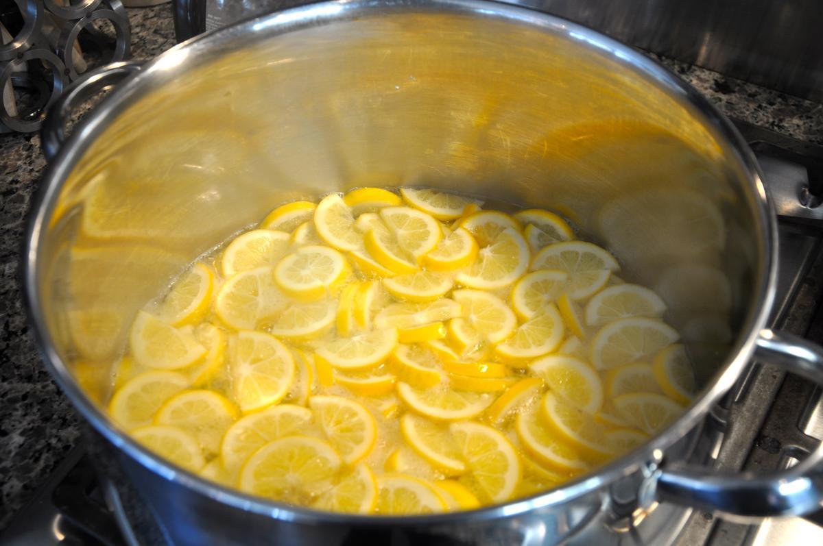 Лимонный компот в домашних условиях
