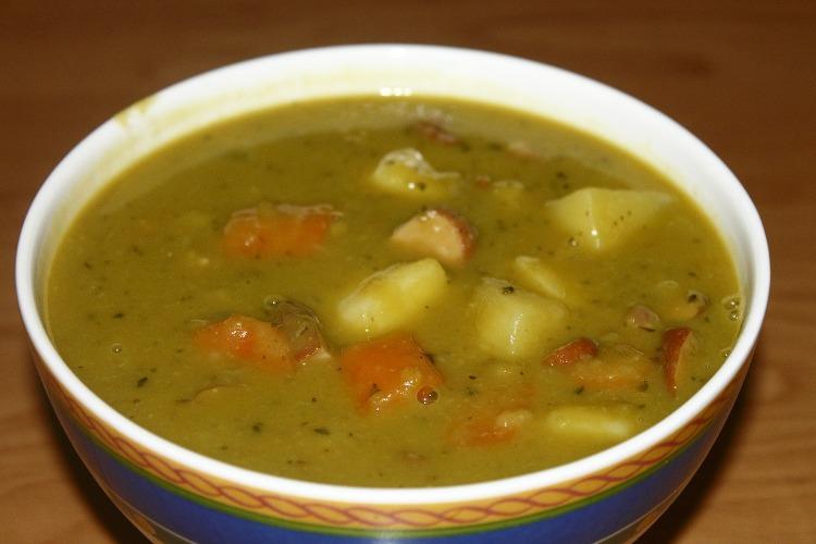 рецепт горохового супа для ребенка 2 года