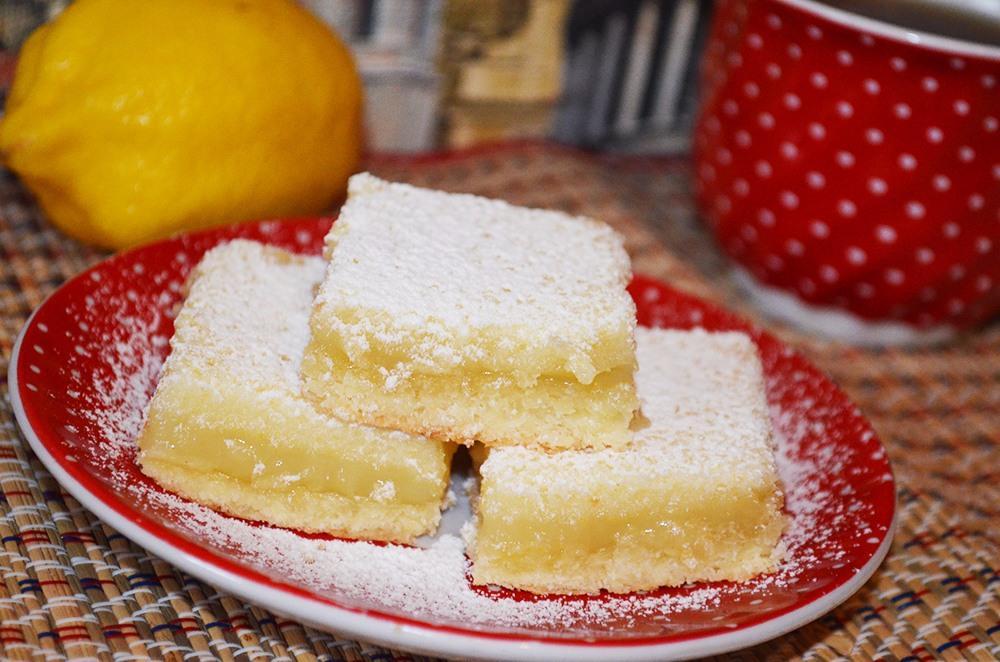 Пирог лимонный из песочного тестаы с фото