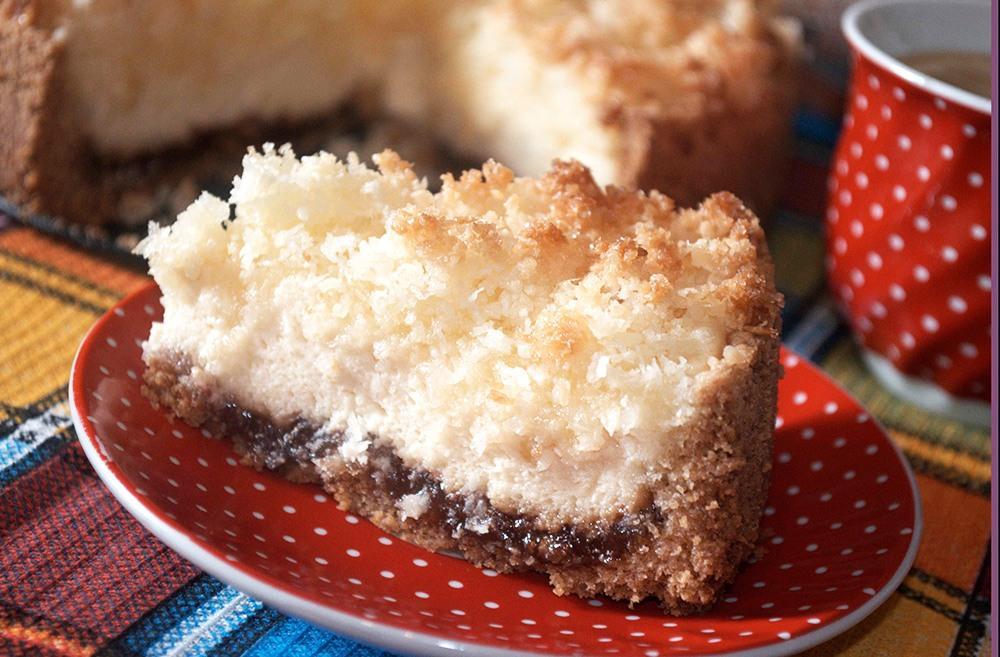 Кокосовый пирог рецепт с пошагово
