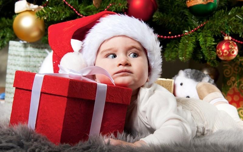 Дед Мороз и дети 44