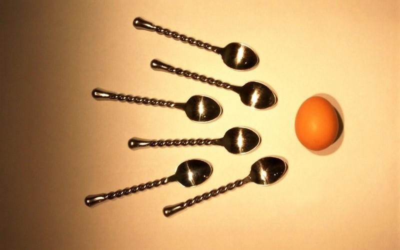 Точка для остановки спермы