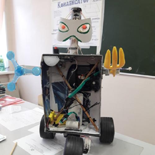 Робот Из Картона 54