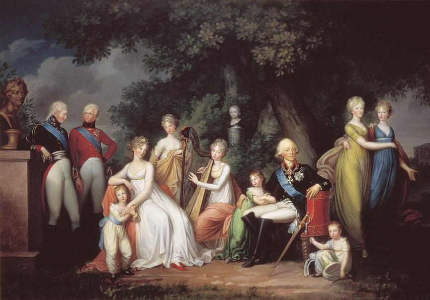 Как воспитывала детей Екатерина II