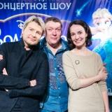 Члены жюри детского кастинга Николай Басков, Валерия Ланская и Александр Львович Федоров