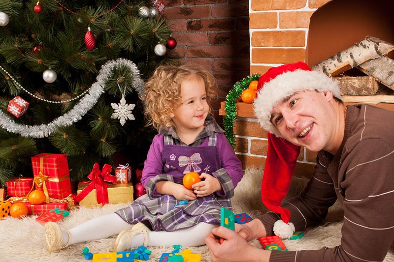 Новый год  и вместе с детьми