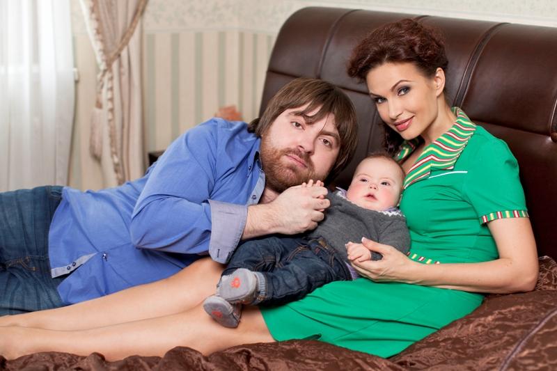 Бледанс эвелина с ребенком