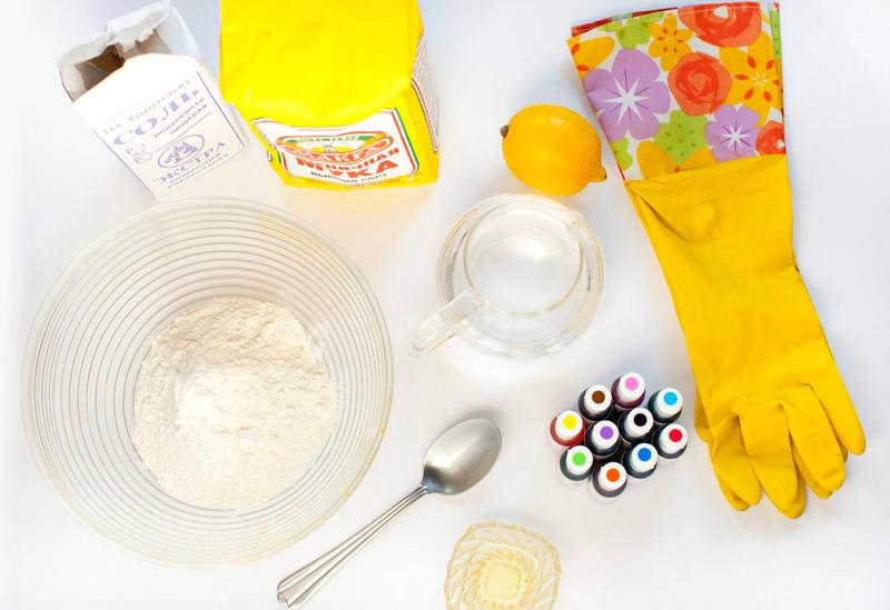 Приготовить пластилин в домашних условиях