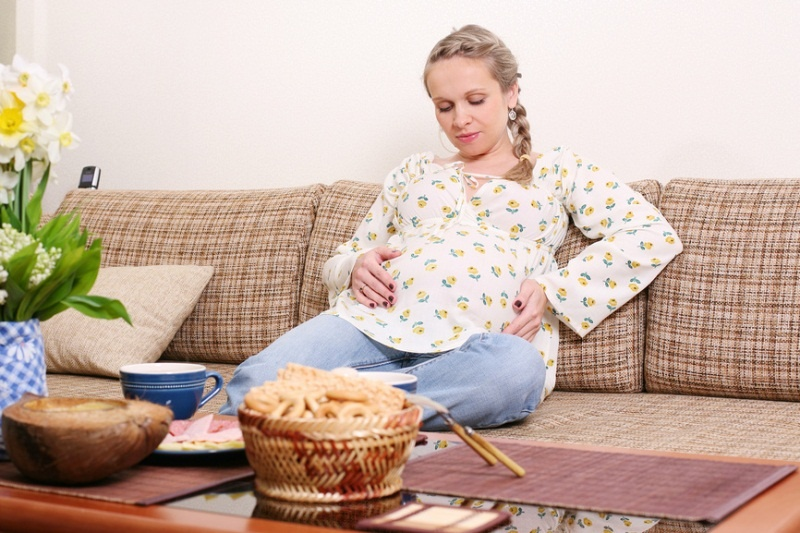 При беременности очень болит желудок