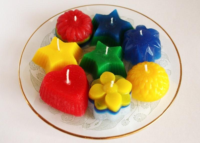 Свечи с детьми