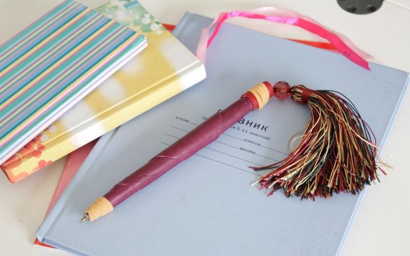 Оформление ручки своими руками
