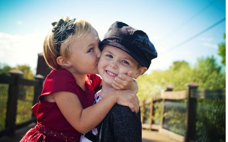 Детская влюбленность: советы психолога
