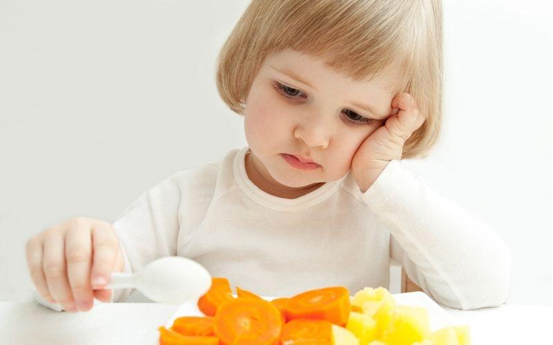 ребенок плохо ест:
