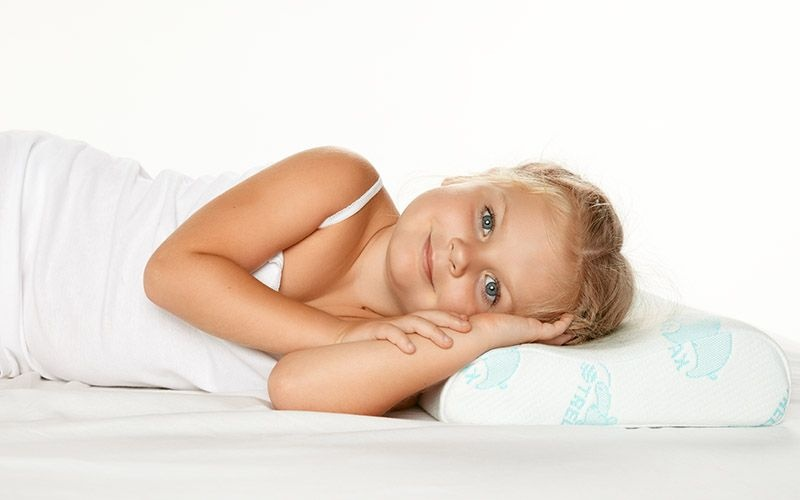 выбрать правильная подушка для сна ребенка важно