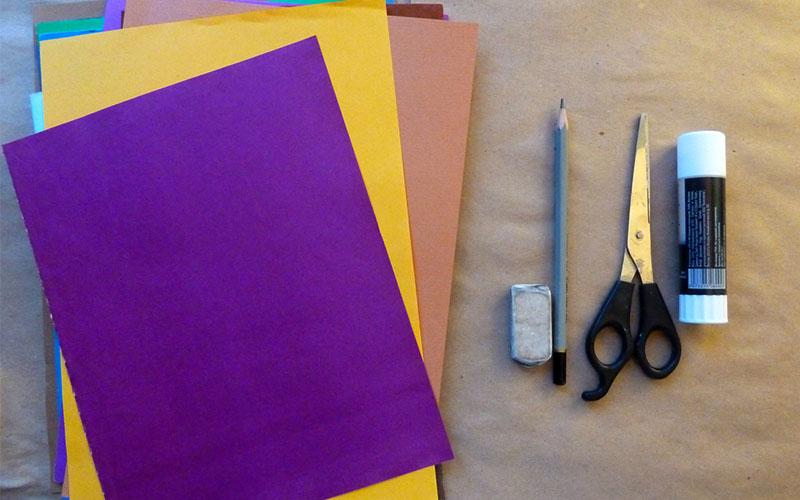Как сделать своими руками открытку из бумаги без клея и ножницы