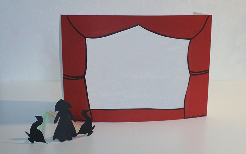 Сообщение про театр теней с фото