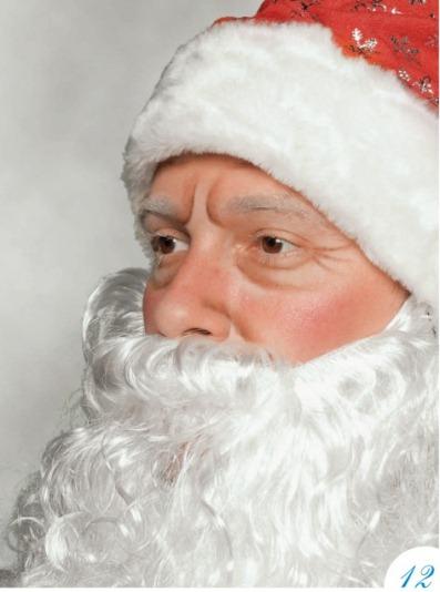 Дед мороз как сделать гримм